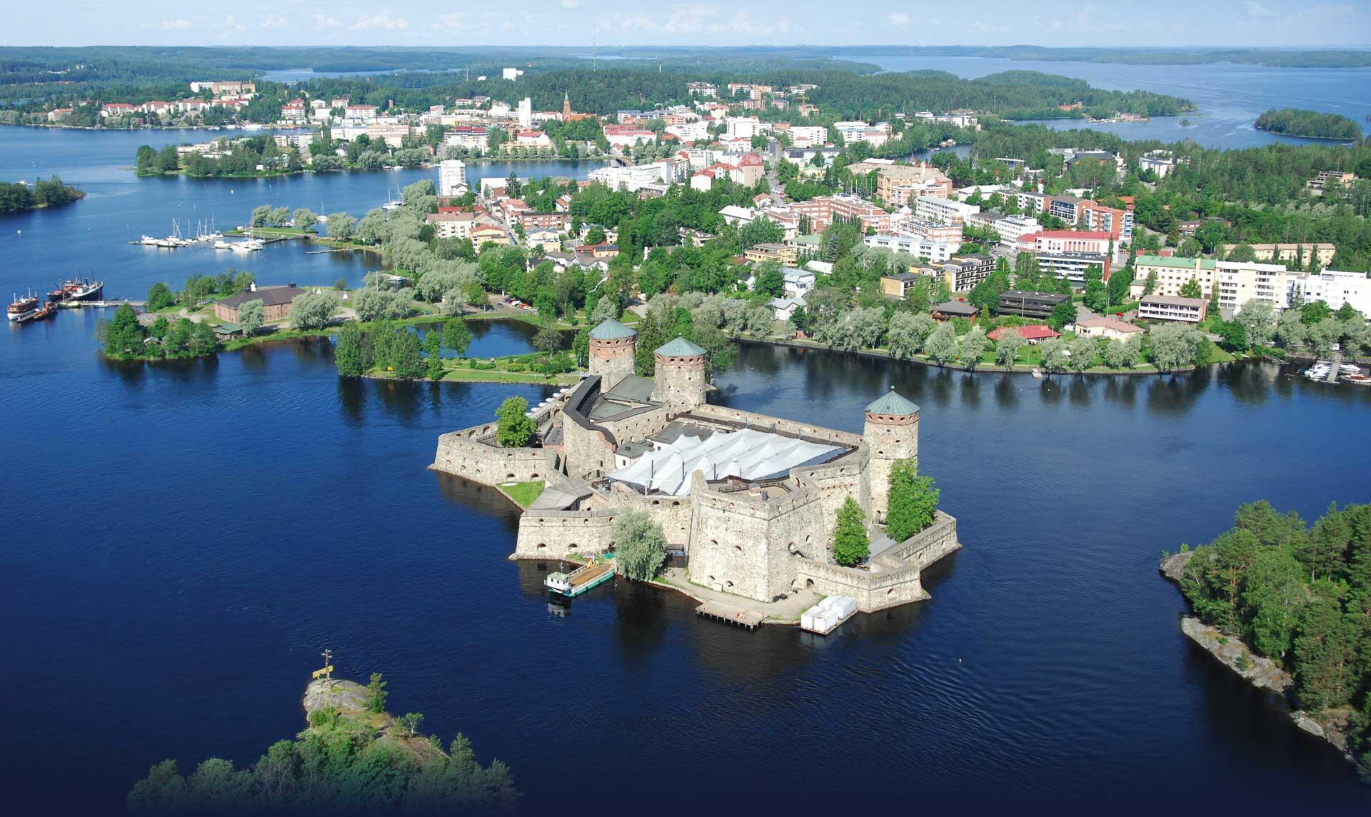 O Festival de Ópera de Savonlinna acontece em cenário mágico