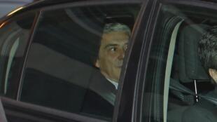 Ex-premiê portugues José Sócrates, acusado de corrupção, lavagem de dinheiro e fraude fiscal.