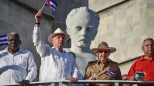 Shugaba Miguel Diaz-Canel na Cuba