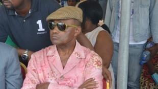 Jules Aristide Bourdes Ogouliguendé, le 22 septembre 2012 à Libreville.