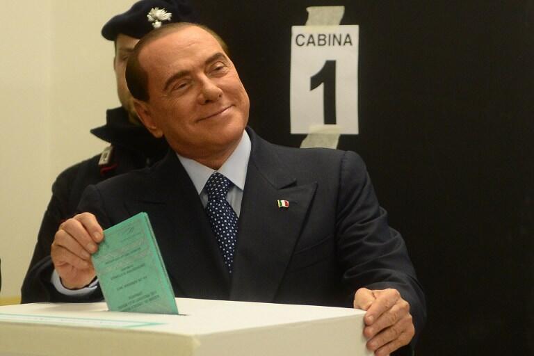 Waziri Mkuu wa zamani wa Italia, Silvio Berlusconi