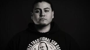 Hip hop performer Nataanii Means, Native American Nation Lakota