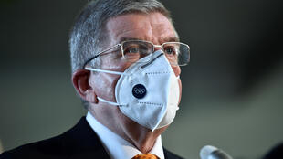 International Olympic Committee (IOC) president Thomas Bach, pictured here in November 2020, says there is 'no plan B' for the Tokyo Olympics