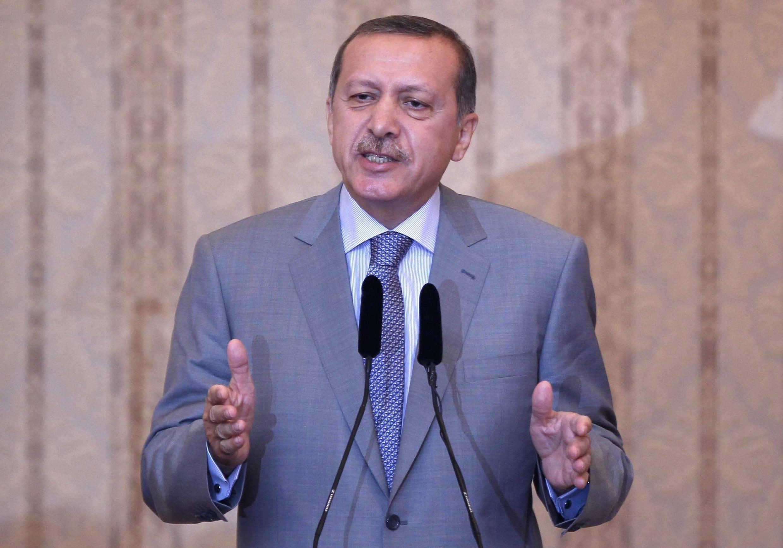 Thủ tướng Thổ Nhĩ Kỳ Recep Tayyip Erdogan đã tăng cường biện pháp tẩy chay Israël. Ảnh tư liệu chụp ngày 17/08/2011.