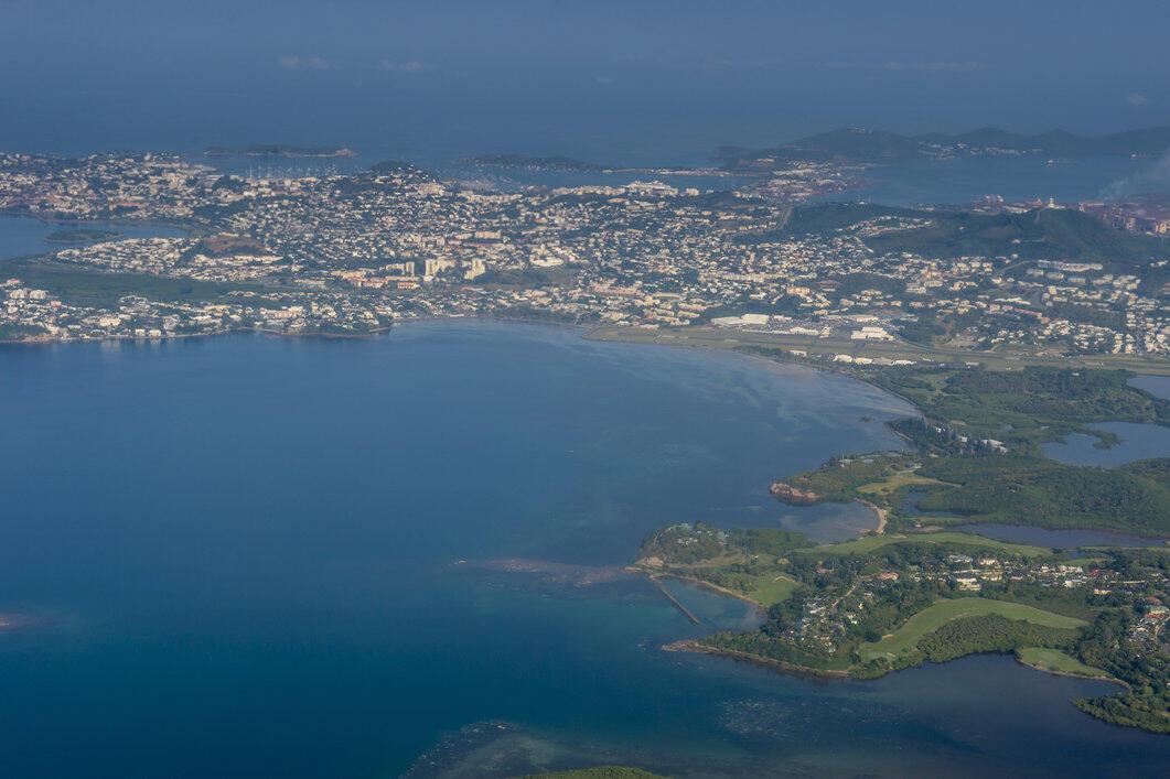 Vue aérienne de Nouméa, en Nouvelle-Calédonie (image d'illustration).