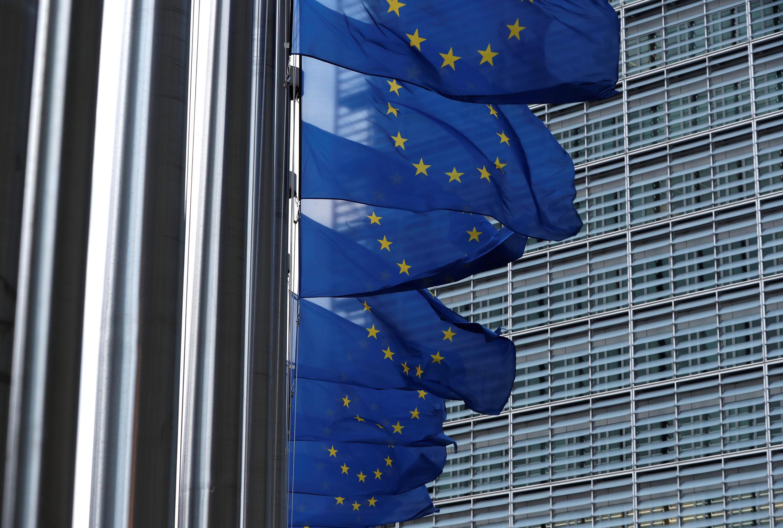 Trụ sở Liên Hiệp Châu Âu tại Bruxelles, Bỉ, ngày 08/03/2018.