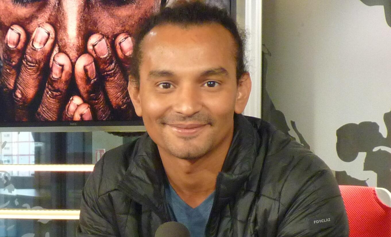 Pablo Buelvas en los estudios de RFI