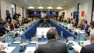 Một khóa họp tài chính của nhóm G20 (Reuters)