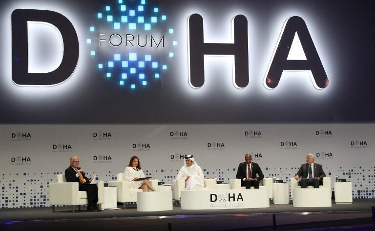تمیم بن حمد آل ثانی، امیر قطر در سخنرانی امروز خود در هجدهمین نشست دوحه، گفت موضع قطر در برابر بحران خلیج فارس بر اساس گفتگو و دوری جستن از دخالت در امور داخلی کشورها، تغییر نکرده است.