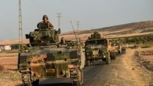 Frontera turco-siria el pasado 2 de septiembre