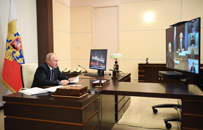 "Russian President Vladimir Putin called for ""urgent"" measures in Dagestan"