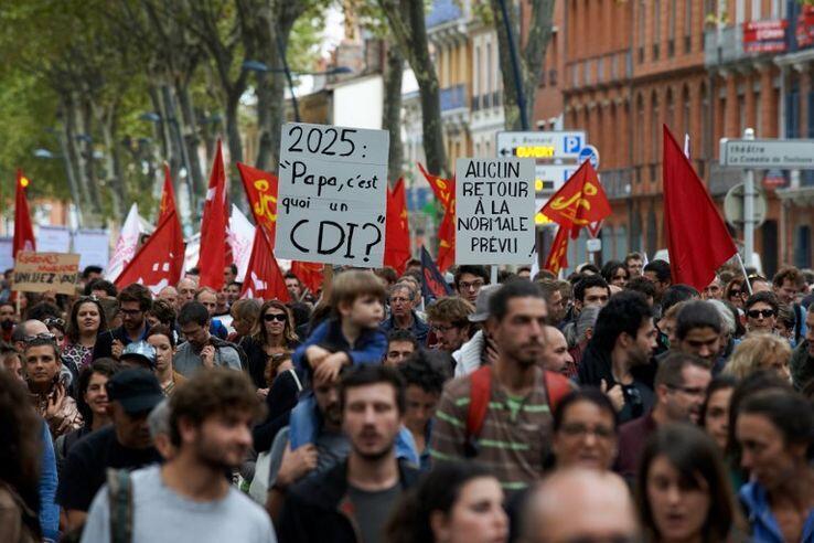 تظاهرات مخالفان تغییر قانون کار فرانسه