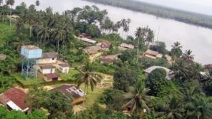 Bakassi's province in Cameroon in November 2008
