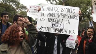 Brasil e Paraguai cancelaram o acordo sobre Itaipu que causou uma crise política em Assunção.