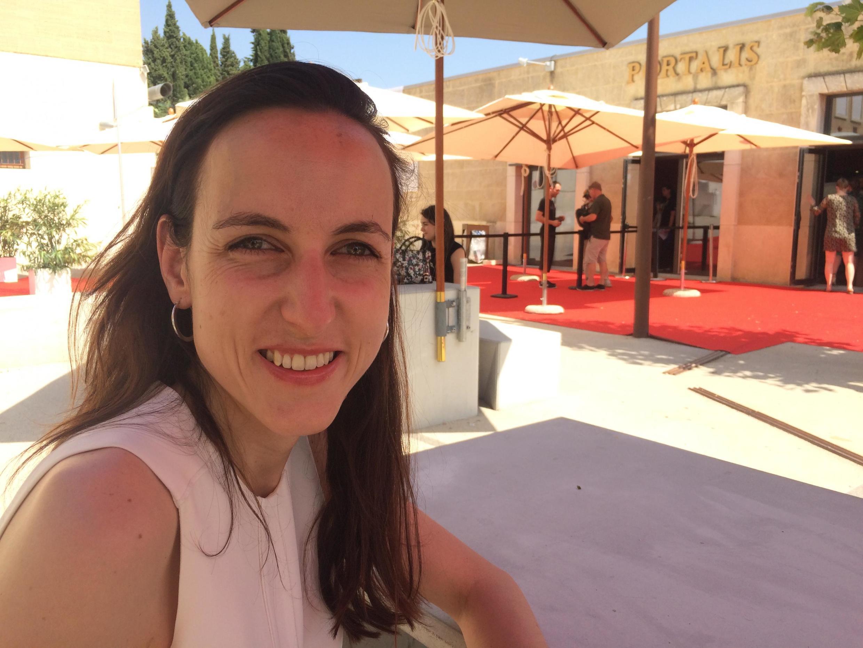 Julia Cagé aux Rencontres économiques d'Aix-en-Provence, juin 2019.