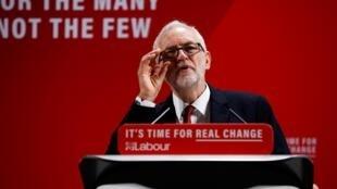Jagoran 'yan adawar Birtaniya Jeremy Corbyn.
