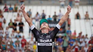 Maciej Bodnar claimed the penultimate stage of the 2017 Tour de France