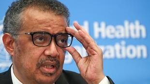 "A WHO statement says that its General Secretary Dr Tedros Adhanom Ghebreyesus (pictured here) and Chinese President Xi Jinping ""did not speak on 21 January and they have never spoken by telephone."""