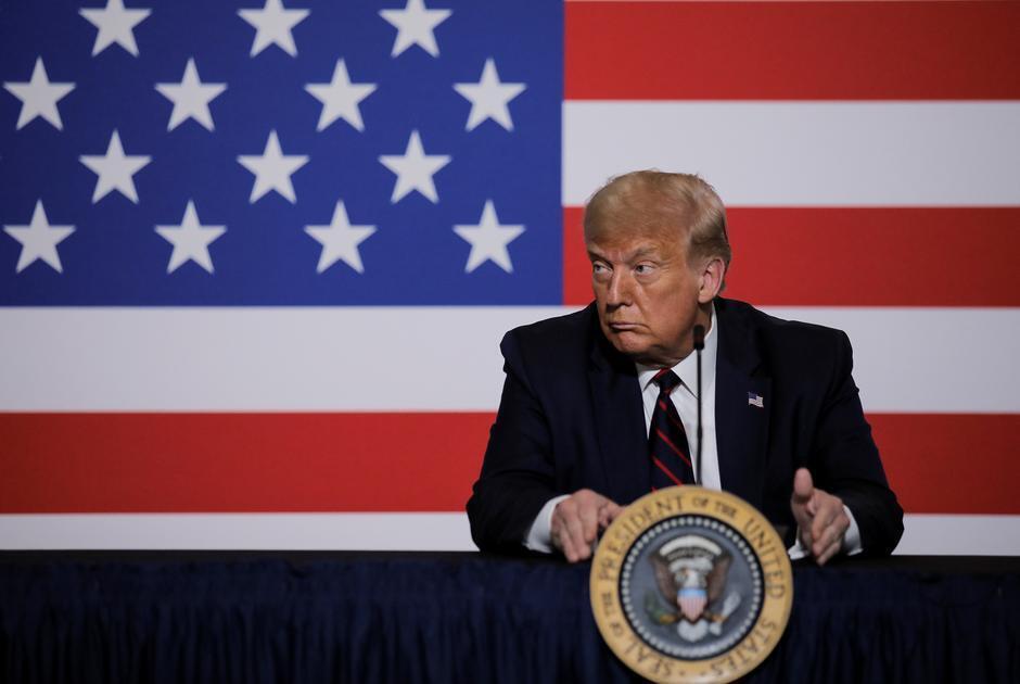 Presidente norte-americano.