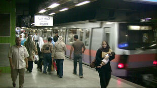 Le métro du Caire.