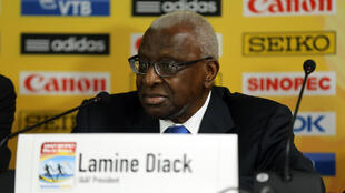 Lamine Diack, the former president of the IAAF