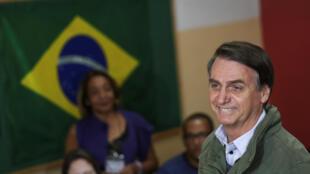 Jair Bolsonaro (PSL) foi eleito presidente da República do Brasil em 28 de outubro de 2018.
