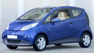 O Bluecar da empresa Bolloré foi escolhido para ser o carro do Autolib.