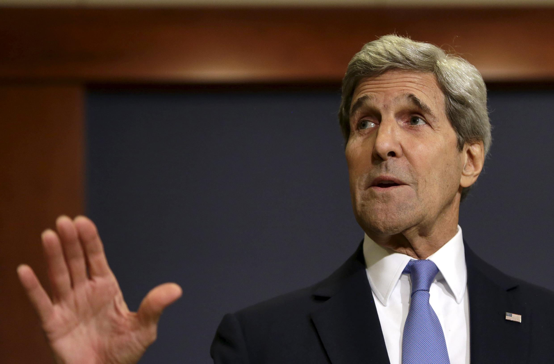 Госсекретарь США Джон Керри в американском сенате
