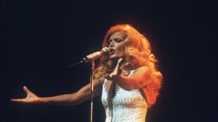 La cantante Dalida.