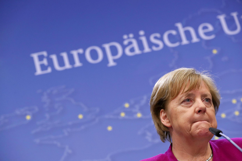 Angela Merkel earlier this summer in Brussels, 2019