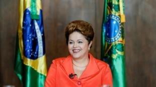 A presidenta reeleita do Brasil, Dilma Rousseff, em foto de arquivo