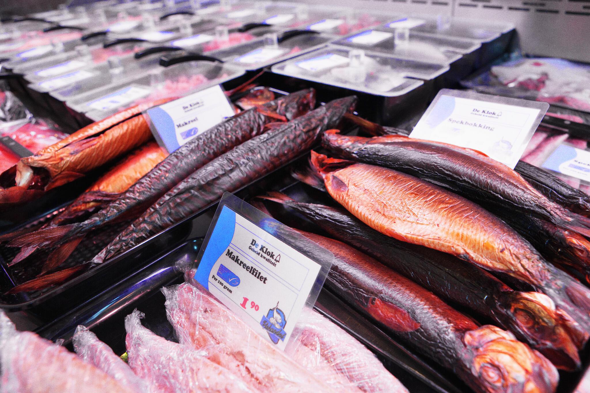O selo MSC garante que a produção é proveniente de uma pesca sustentável.