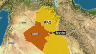 """شهر """"رطبه"""" واقع در استان انبار واقع در غرب عراق، توسط ارتش عراق از دست گروه دولت اسلامی آزاد شد."""