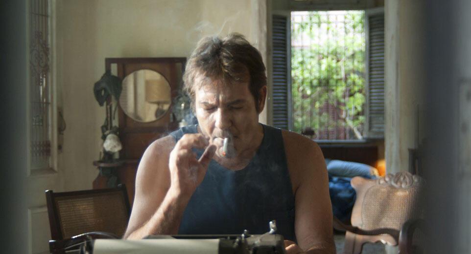 El actor Jorge Perugorría interpreta al detective Mario Conde.