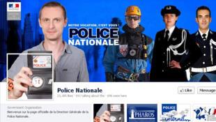 Cuenta Facebook de la Policía Nacional francesa.