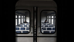 Dans un train ukrainien (image d'illustration).