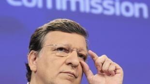 El presidente de la Comisión Europea José Manuel Barroso.