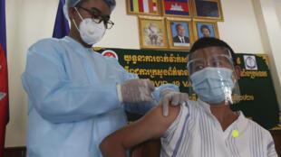 Cambodge - Vaccination - Covid-19