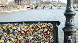 The Pont des Arts, Paris