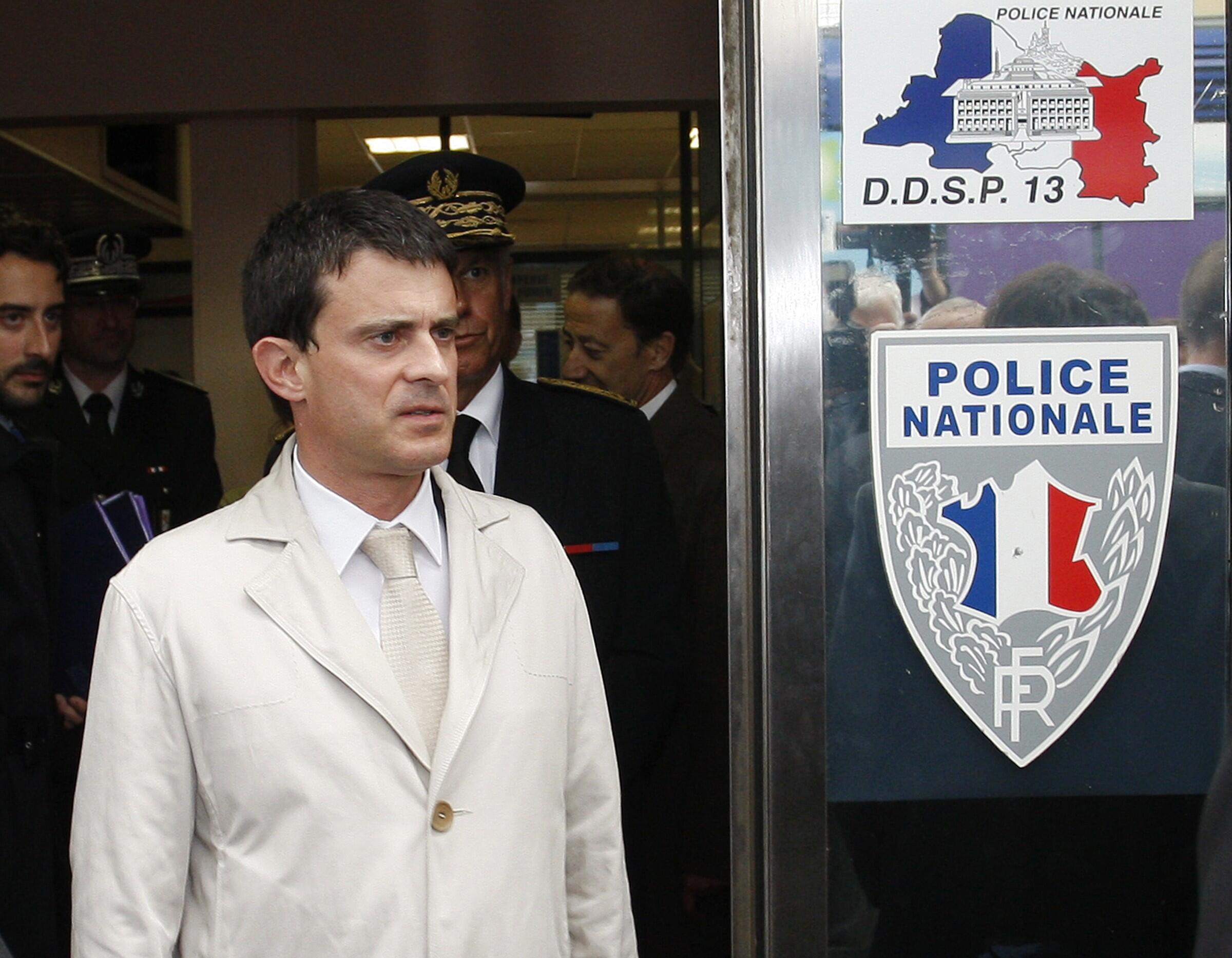 Manuel Valls, ministro do Interior da França.