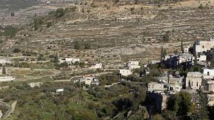 Região ao sul de Jerusalém onde está prevista a construção de muro israelense