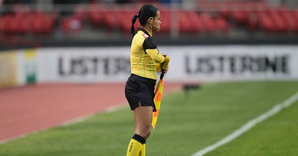Janette Arcanjo, bandeirinha brasileira