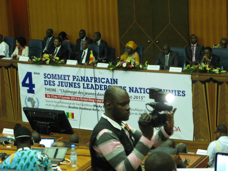 L'ouverture du 4e Sommet panafricain des jeunes leaders ce 13 janvier a été présidée par le Premier ministre sénégalais, Aminata Touré.