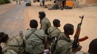 Un contingent de soldats maliens. (Photo d'illustration)