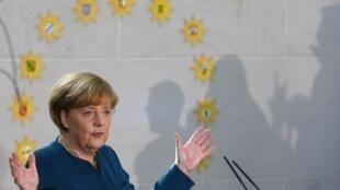 Ангела Меркель в Берлине 07/01/2014 (архив)