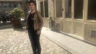 Beatriz Seigner em Paris a 4 de Maio de 2018