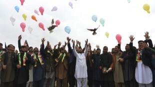 جوانان جلالآباد، روز جمعه ٩ اسفند/ ٢۸ فوریه ٢٠٢٠ مصادف با آخرین روز «هفته کاهش خشونتها»را جشن گرفتند.