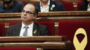 В состав нового каталонского правительства включен депутат парламента Каталонии Жорди Турулл, который сейчас находится под арестом.