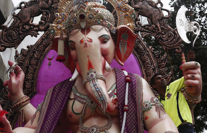 El dios hindú Ganesh.