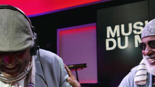 Girma Bèyènè et Mighty Mo Rodgers à RFI.